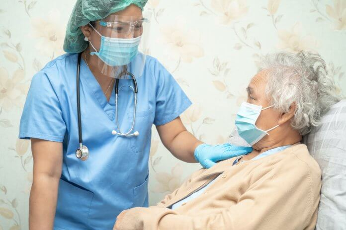 Compassionate nursing while wearing PPE